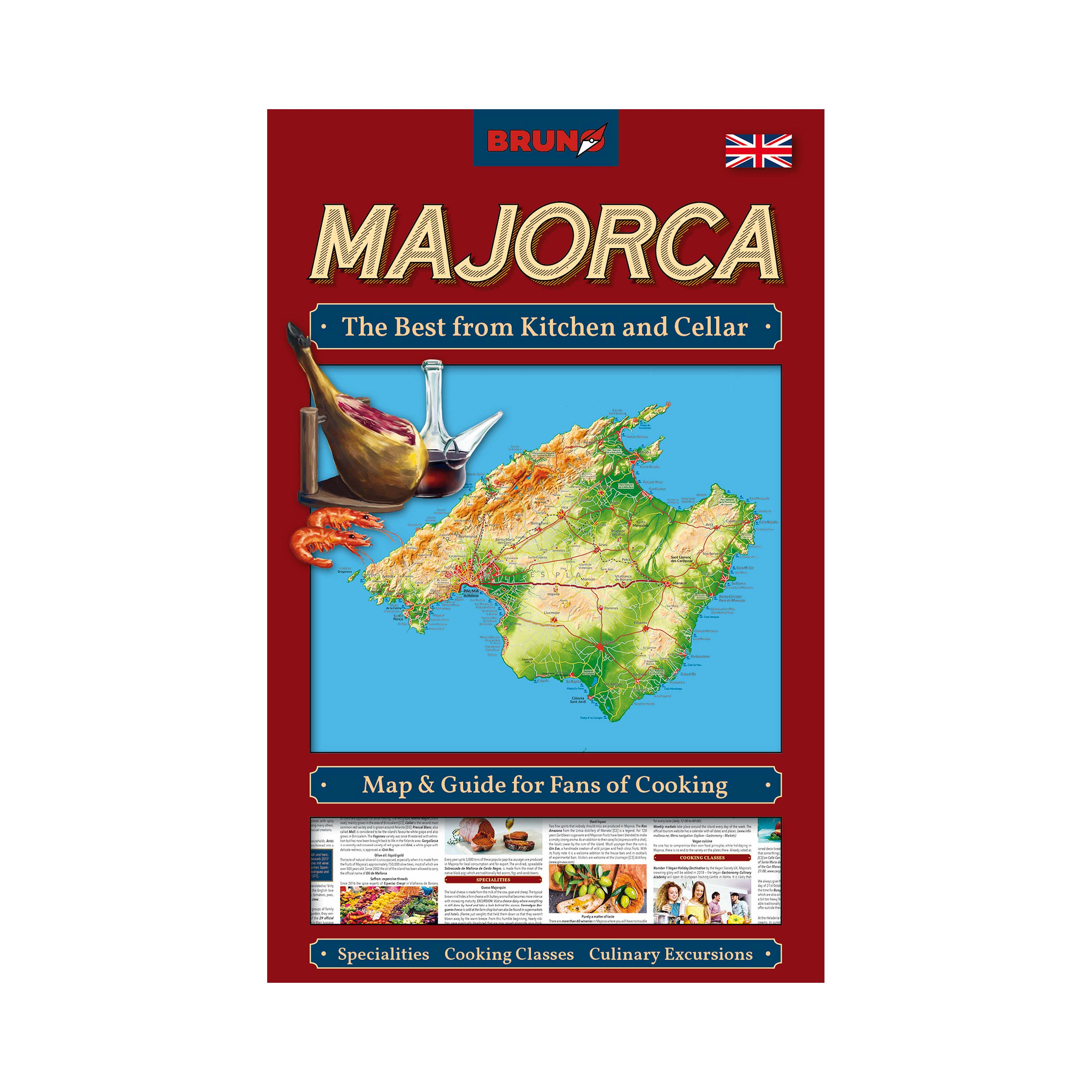 The Best from Kitchen and Cellar Majorca – Map and Guide